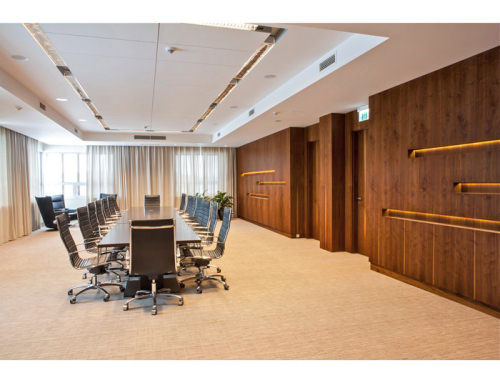 Drzwi biurowe fornirowane