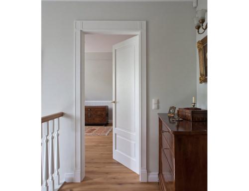 6. Drzwi klasyczne – projekt kompleksowy wnętrza