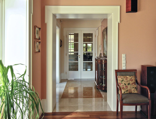 22. Drzwi klasyczne – francuska elegancja