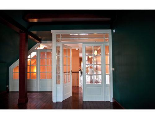 24. Drzwi klasyczne ażurowe