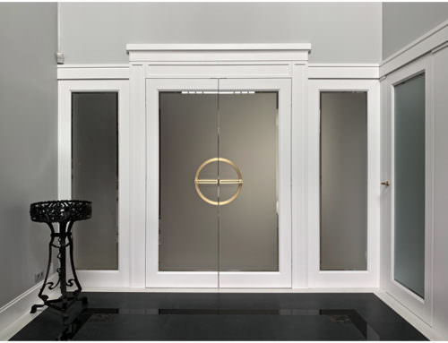 Drzwi w stylu Art Deco