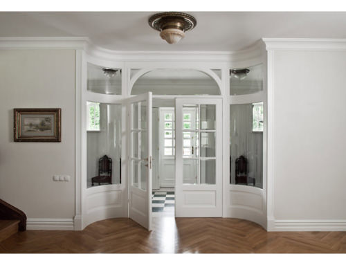 Drzwi klasyczne białe