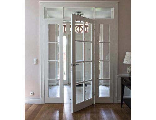 Drzwi klasyczne w stylu Świdermajer
