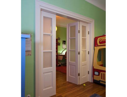 Drzwi klasyczne – składane