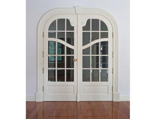 Drzwi stylowe secesyjne